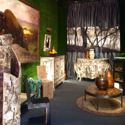 Exposition Boutique Birch Bark Furniture